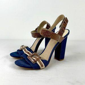 ✨3/$25✨Joan & David Dapulis Chunky Heel Sandal
